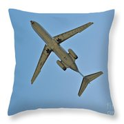 San Diego Marines  Throw Pillow