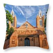 San Filipe De Neri Throw Pillow