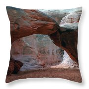 Sand Dune Arch - Arches National Park Throw Pillow