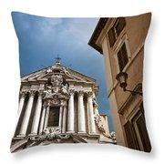 Santi Vincenzo E Anastasio A Trevi Throw Pillow
