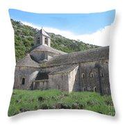 Senanque Abbey Throw Pillow