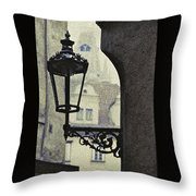 September In Prague Throw Pillow