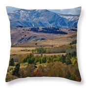 Sierras Mountains Throw Pillow