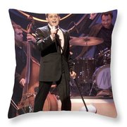 Singer Michael Buble Throw Pillow