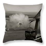 Sopwith - 'overwatch' Throw Pillow