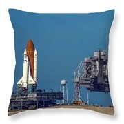Space Shuttle Roll-around Throw Pillow