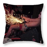 Sparks Are Going To Fly Throw Pillow