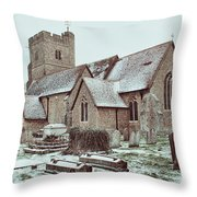 St Mary And All Saints Boxley Throw Pillow