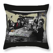 Stagecoach Cast Publicity Photo 1939  Throw Pillow