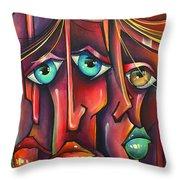 ' Stringers ' Throw Pillow