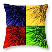 Sunflower Medley Throw Pillow