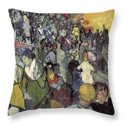The Arena At Arles Throw Pillow