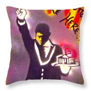 The Butler From The Bottom Throw Pillow