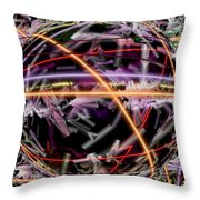 The Electric Body Feel That Mdma Brings To The Acid Body Load Throw Pillow