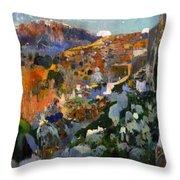 The Jewel Laleixar 1910 Throw Pillow