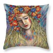 The Loving Angel Throw Pillow