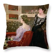 The Lyceum Throw Pillow