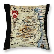 The O Byrnes Country Throw Pillow
