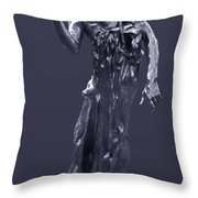 The Sculpture Of Auguste Rodin Throw Pillow