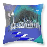 112 This Earthquake Feeling   Throw Pillow