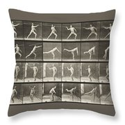 Throwing Spear Throw Pillow