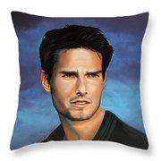 Tom Cruise Throw Pillow