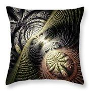 Trilobite Trail Throw Pillow