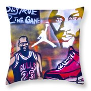 Truly Michael Jordan  Throw Pillow