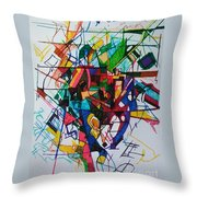 Tzadik 1 Throw Pillow