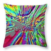 Under The Microscope One Ounce Of Human Fat  Throw Pillow by Sir Josef - Social Critic -  Maha Art