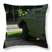 Vehicle Of The Future Throw Pillow