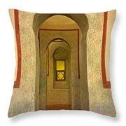 View Through The Passage Throw Pillow