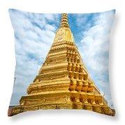 Wat Phra Kaeo Temple - Bangkok Throw Pillow