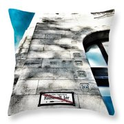Way The Wind Blows - Four Season Hotel Budapest Hungary Throw Pillow