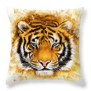 Wild Tiger Throw Pillow