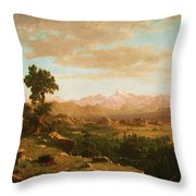 Wind River Country Throw Pillow