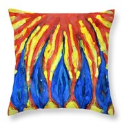 Without Mercy Throw Pillow