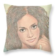 0002 Courtney Throw Pillow