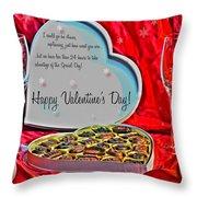 0003 Valentine Series Throw Pillow