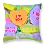 0004 Valentine Series Throw Pillow