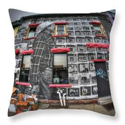 001 Allen St Hardware Throw Pillow