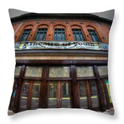 001 Allendale Theatre  Throw Pillow