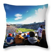 001 Buffalo Bills Vs Jets 30dec12 Throw Pillow