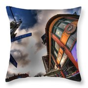 001 Delaware And W Chipp Throw Pillow