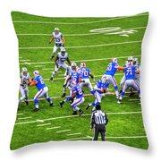 0010 Buffalo Bills Vs Jets 30dec12 Throw Pillow