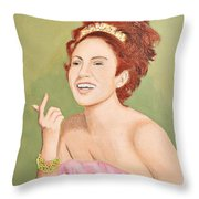 0010 Coquette Throw Pillow