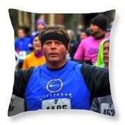 0010 Turkey Trot 2014 Throw Pillow