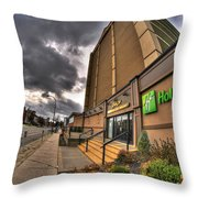0011 Holiday Inn On Delaware Ave Buffalo Ny Throw Pillow