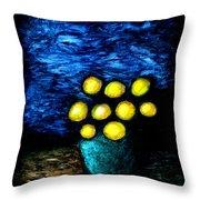 Earthshine Throw Pillow
