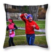 0012 Turkey Trot 2014 Throw Pillow